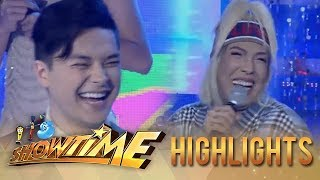 "It's Showtime Miss Q & A: Vice Ganda gets excited seeing ""Kuya Escort"""
