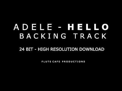 Adele - Hello (Karaoke Instrumental Backing Track) High Rez Download