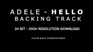Adele - Hello (Karaoke Instrumental Backing Track) High Rez Download