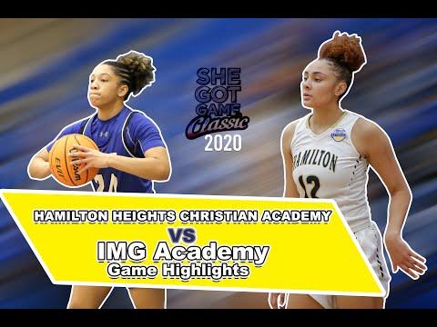 Hamilton Heights Christian Academy vs IMG Academy - 2020 She Got Game Classic