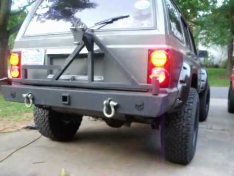 Led Retrofit In Jeep 2500 Chinese Jeep Xj Tail Lights
