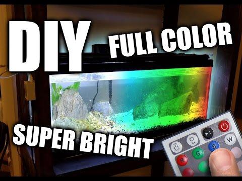 DIY LED Aquarium Grow Light Hood