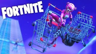 COURSE DE CADDIES EXTRÊME ! (FORTNITE Fun)