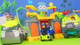 PAW Patrol Spielzeugvideo: Chase, Ryder, Feuerwehrmann Marshall & Jungle Unboxing für Kinder