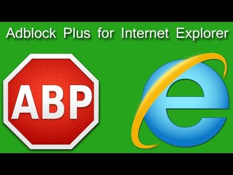 Adblock Plus for Internet Explorer