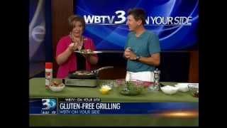 Grilled Portobello Mushroom And Quinoa Spinach Salad Ii