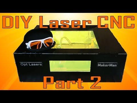 DIY Laser engraving CNC | Part 2 | OPT Lasers | MakerMan