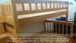 giường tầng siêu đẹp tại TP HCM khu vực quận Bình Tân - giường tầng nội thất LAM SƠN