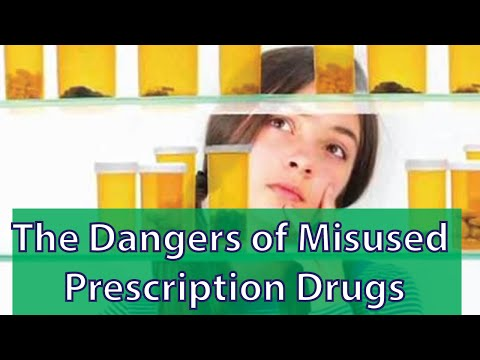 The Dangers of Misused Prescription Drugs