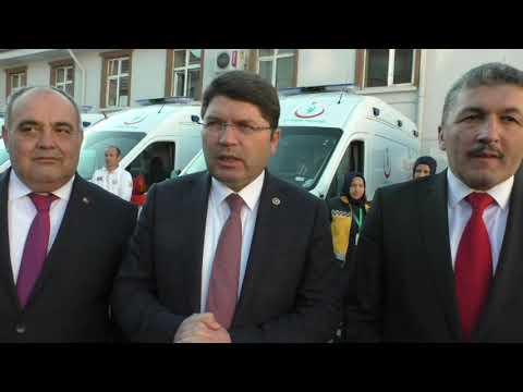 Bartın'da yeni ambulanslar hizmete alındı