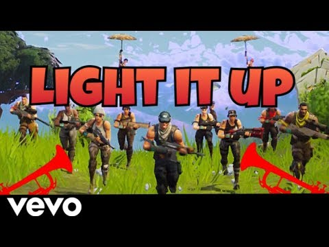Major Lazer - Light it up (feat. Nyla & Fuse ODG) [FORTNITE PARODY]