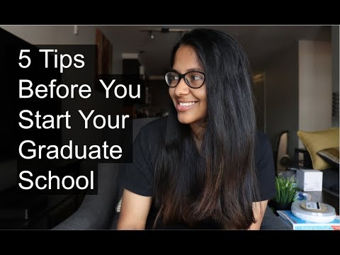 5 Tips Before You Start Your Graduate School | Grad Student | Columbia University