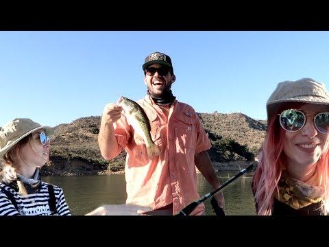 HEATH TEACHES US HOW TO FISH!!!