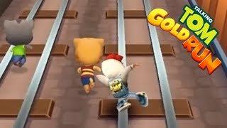 Subway Surfers:Jake VS Talking Tom VS Talking Ginger | Funny Racing