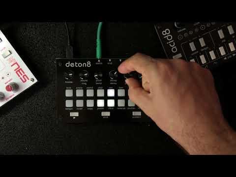 deton8 Drum Machine Walkthrough