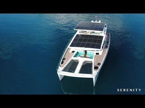 Serenity 64 - Solar Yacht