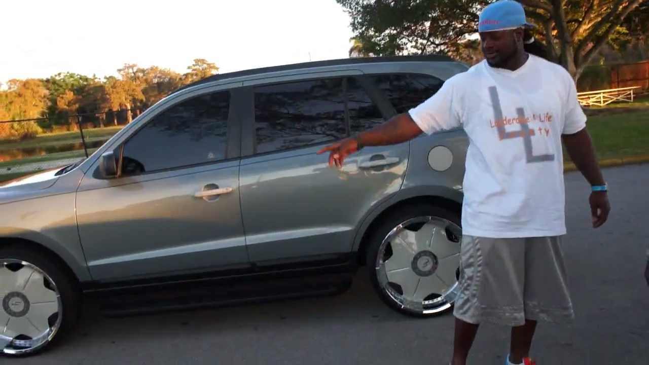 "HONDA TRUCK ON 26"" LAUDERDDALE 4 LIFE RIMS!! XCLUSIVE!! - YouTube"