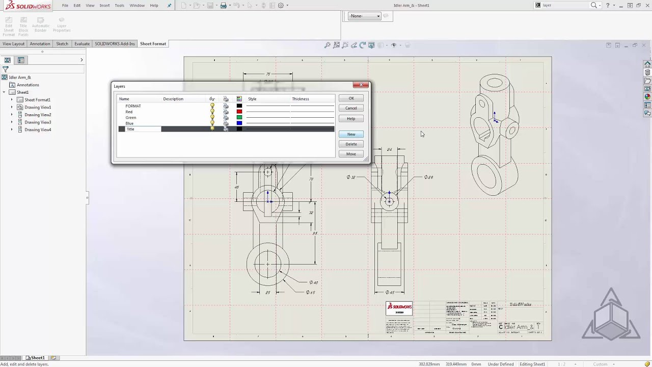 Tech tip update your drawing templates with ease in for Solidworks drawing template tutorial