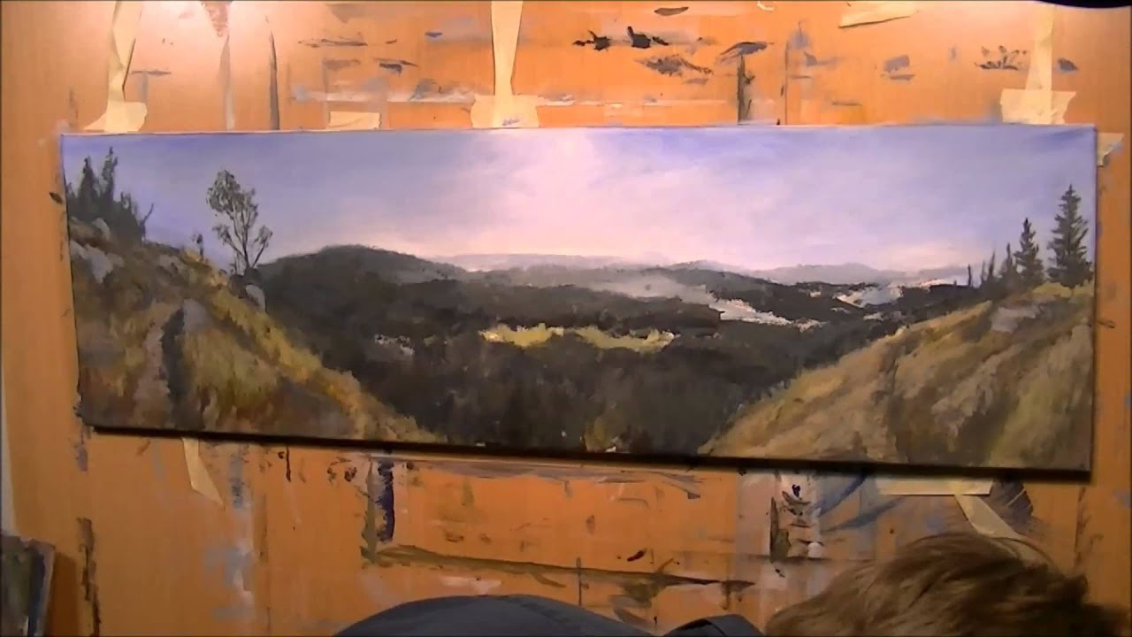 Panorama Landscape Painting By MS-Art-Studio