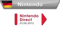 Nintendo Direct-Präsentation - 07.08.2013