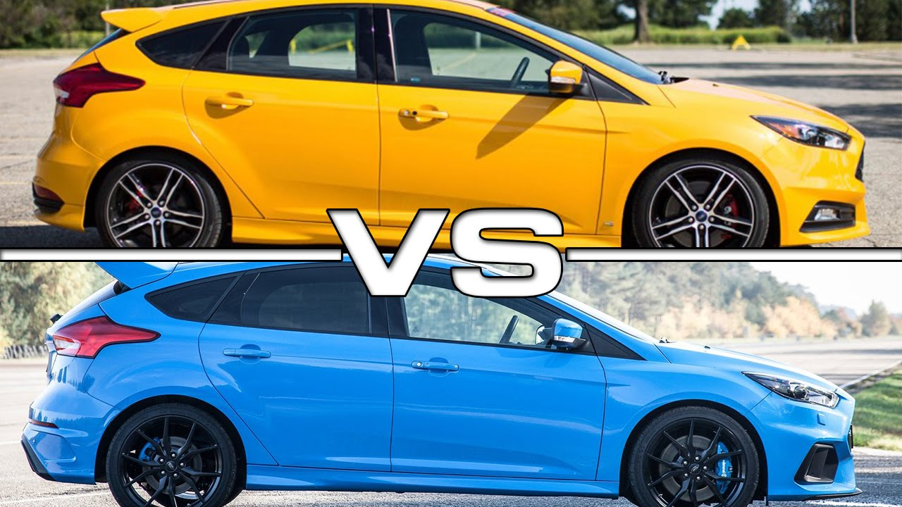ford focus st vs ford focus rs youtube. Black Bedroom Furniture Sets. Home Design Ideas