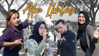 AKU IKHLAS - AFTERSHINE FT DAMARA DE COVER JOWO GAPOK OFFICIAL ( Music Video Cover)