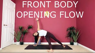 Front Body Opening Flow