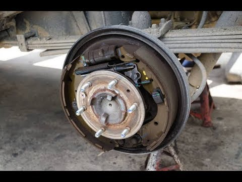 2) Drum Brake Set-up and Components || Rear Axle Removal || Overhauling ||