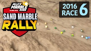 Sand Marble Rally 2016 Race 6 (ELIMINATION) - Jelle's Marble Runs