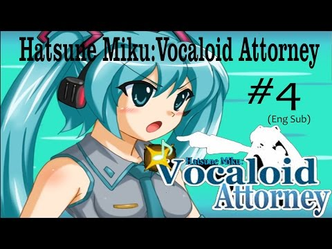 Hatsune Miku: Vocaloid Attorney- What's the mysterious photo (Eng sub) pt.4