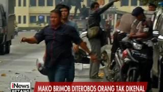 Detik-detik 2 Orang Tak Dikenal Menerobos Masuk Kedalam Mako Brimob Kelapa Dua - iNews Petang 10/05