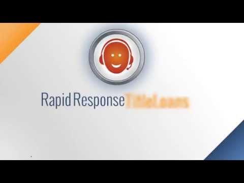 Rapid Response Title Loan Process