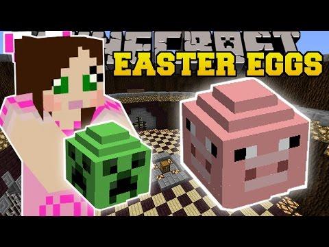 Minecraft: LUCKY EASTER EGGS (RANDOM PRIZES!!!) Mod Showcase - Видео из Майнкрафт (Minecraft)
