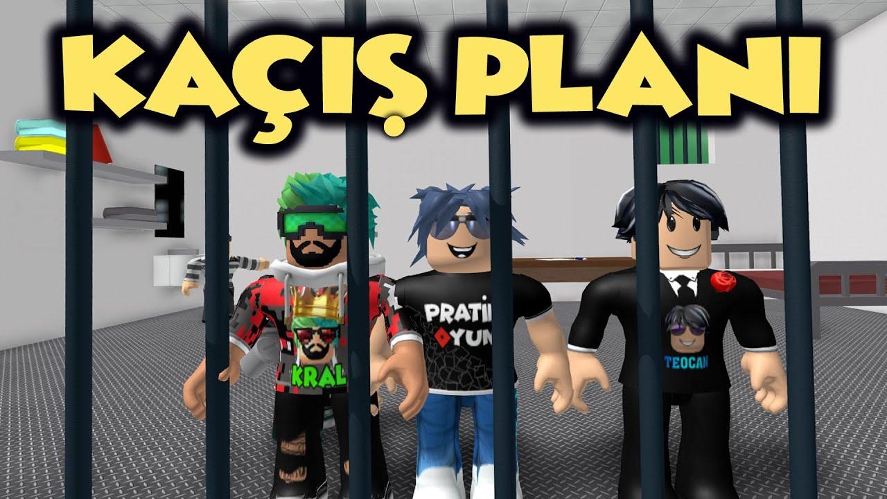 HAN KANAL HAPİSHANEDEN KAÇMA PLANI YAPTI !!! |1.Bölüm | [NEW] Escape Prison Obby! | Roblox Türkçe