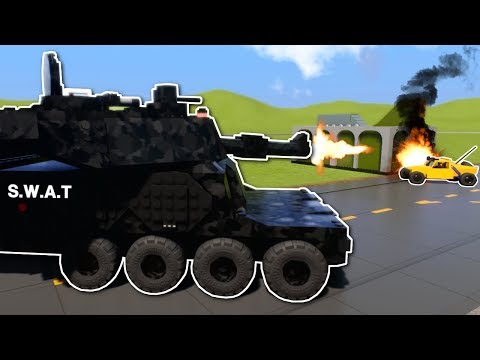 CRAZY COPS AND ROBBERS VEHICLES! - Brick Rigs Multiplayer Gameplay - Lego Cops and Robbers