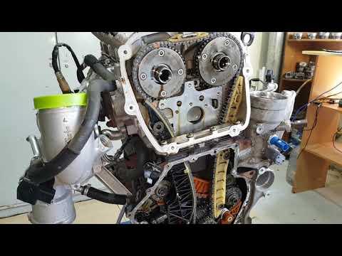 Фото к видео: Разборка двигателя CJSA/CJSB/CJEA/CJEB 1.8TSI GEN3