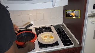 Sunny Side Up Eggs/Fried Eggs Range Mate Pro, under 3 minutes