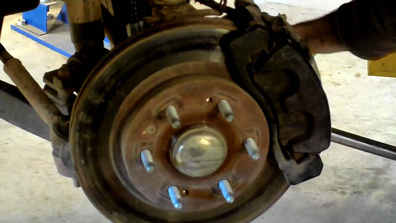 2007 Chevy Silverado Z71 Front Hub Bearing Replacement Youtube