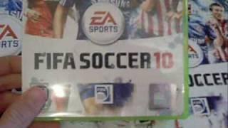 FIFA 10 Xbox 360 Unboxing
