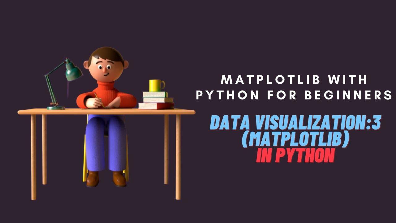 Matplotlib with Python Tutorial for Beginners|Data Visualization with Matplotlib in Python