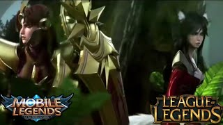 Film Animasi Hero Freya ,Nana ,Rojer ,Karina | Leagua Legends | | Mobile Legends |