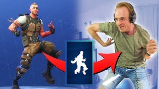 ALL * NEW * DANCE EMOTES IMITAT (IN REAL LIFE)-Fortnite Battle Royale (English)