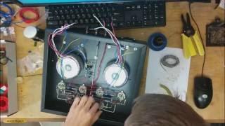 видео Двухтактный усилитель на лампах 6П13С