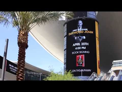 "Daymond John ""The Power of Broke"" - Las Vegas book signing"