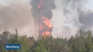 Colonial Pipeline Explosion Jolts U.S. Gasoline Prices