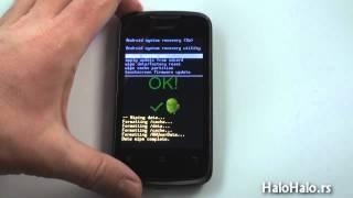 Huawei Ascend Y200 / Y210 hard reset