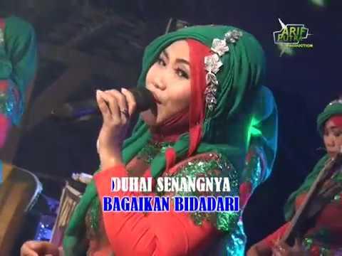 qasidah elmuna PENGANTIN BARU with lirik live in jragung