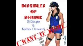 Disciples Of Phunk, Dj Disciple & Michele Chiavarini - I Want It Right(Richard Earnshaw Remix)