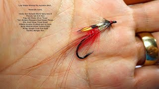 Tying a Low Water Shrimp Fly Ayrshire Red by Davie McPhail