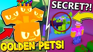 GOLDEN PETS, FREE VIP DROPS AND ALL SECRET ROOMS IN PET SIMULATOR 2 UPDATE!! Roblox